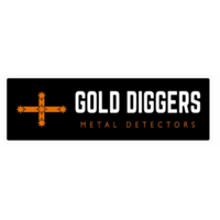 GOLD DIGGERS METAL DETECTORS BUMPER STICKER