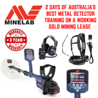 MINELAB GPZ 7000 METAL DETECTOR WITH AUSTRALIA'S BEST DETECTOR TRAINING INCLUDED