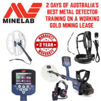"MINELAB GPZ 7000 WITH 14"" SUPER D COIL (+ 19""SUPER D COIL) METAL DETECTOR WITH TRAINING INCLUDED"