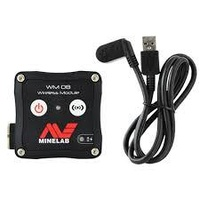 MINELAB WM08 WIRELESS AUDIO MODULE, WITH CHARGING CABLE KIT FOR EQUINOX